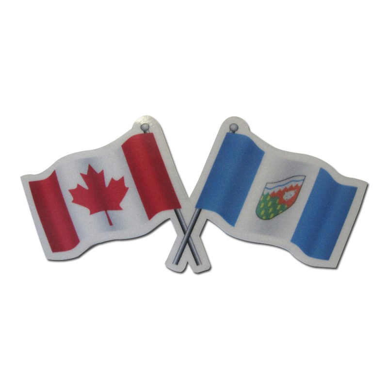 Northwest Territories Canada Reflective Flag Decal Reflectives