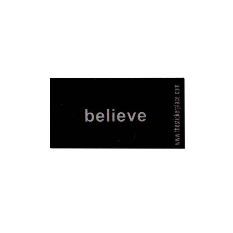 Believe Reflectives