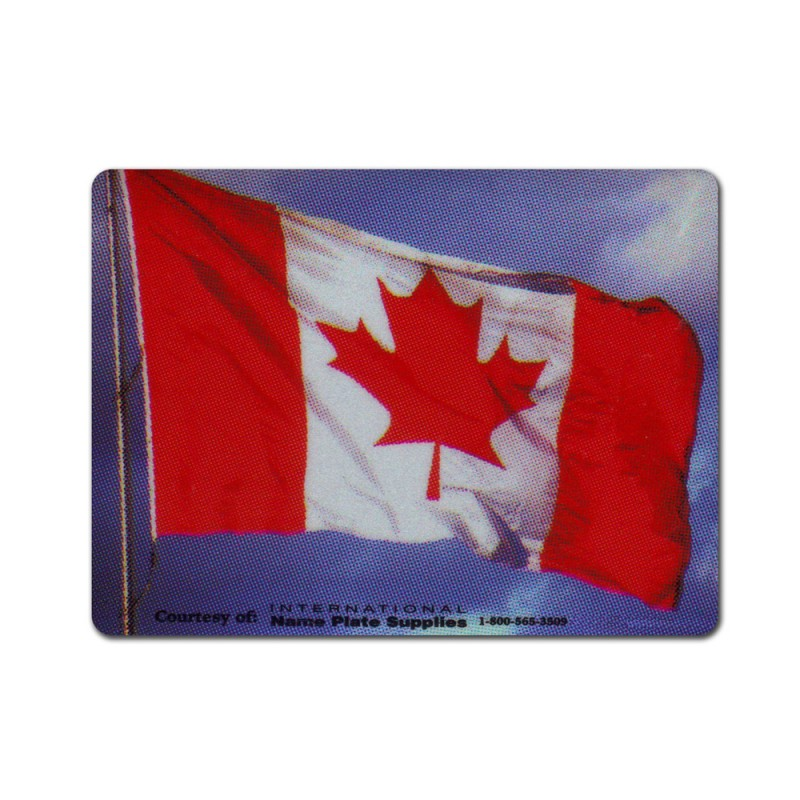 Blowing in Wind Canada Decal Reflectives