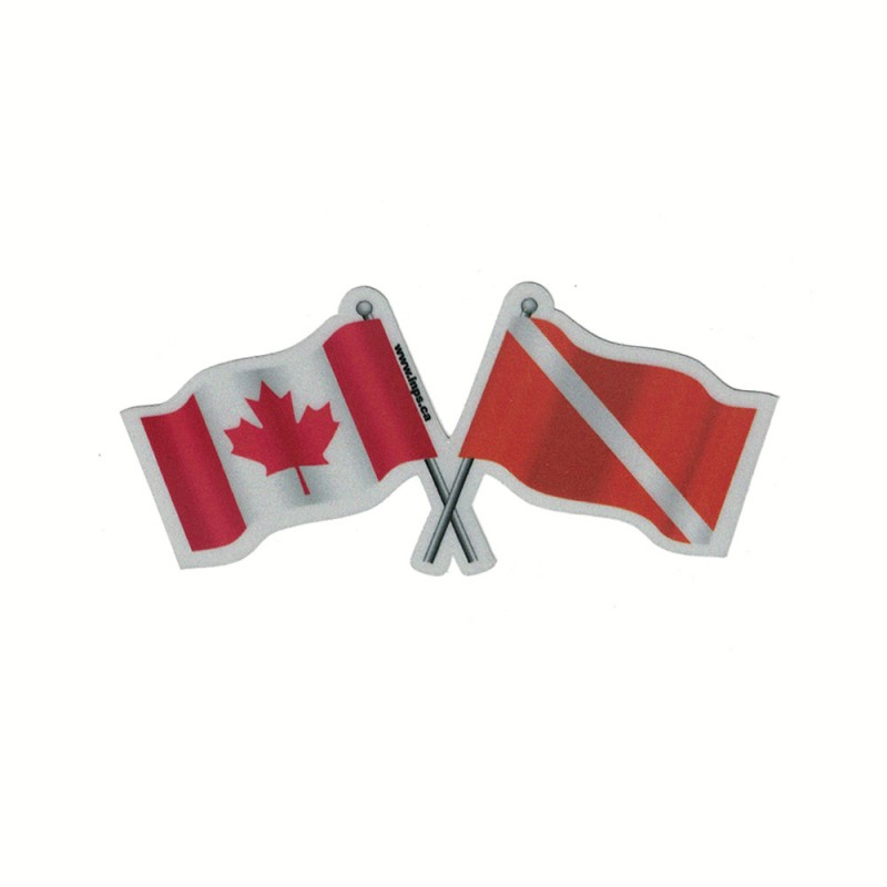 Dive Canada Reflective Decal Reflectives