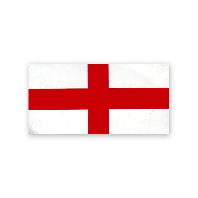 England Vinyl Flag Decal Reflectives