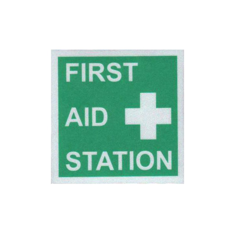First Aid Station Reflectives