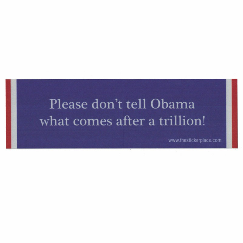 Please Don't Tell Obama Reflectives
