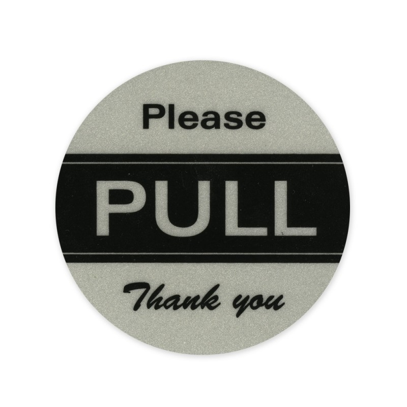 Please Pull Thank You Reflectives