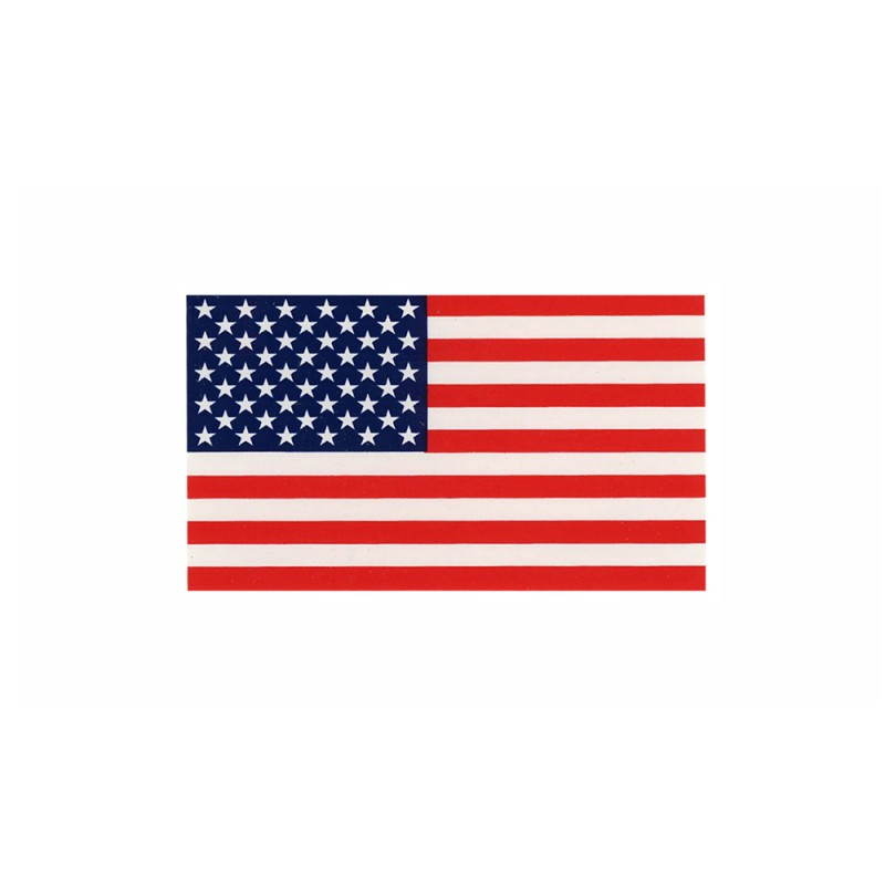 """United States Flag Decal (2"""" x 3.5"""") Reflectives"""